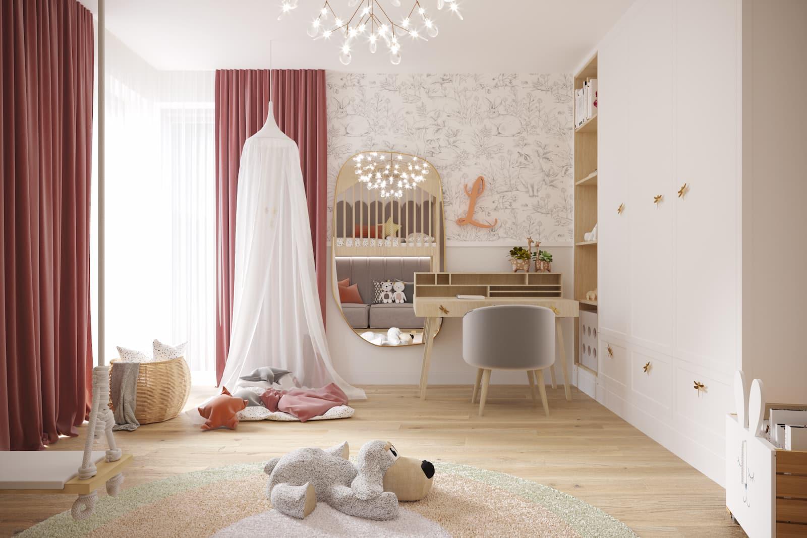 Meble na wymiar - pokój dziecięcy